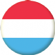 Luxembourg Country Flag 58mm Button Badge